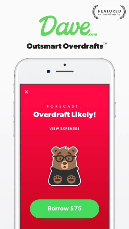 Dave: Outsmart Overdrafts & Borrow w 0% Interest
