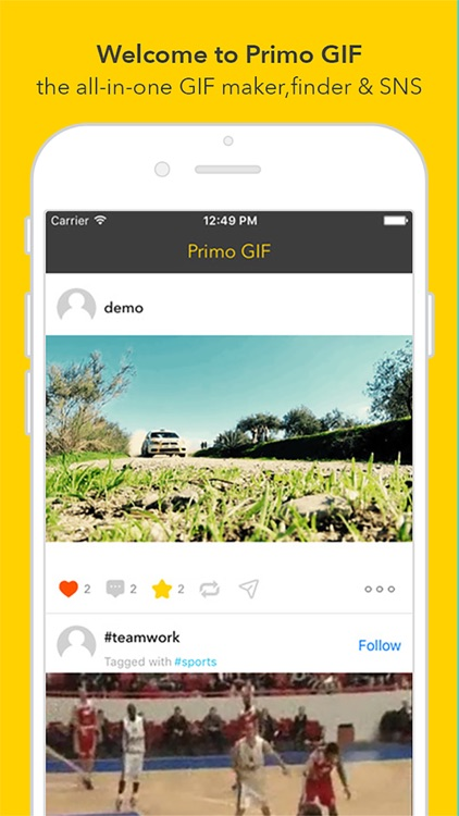 Primo GIF - Video & Photo to GIF Maker and Finder