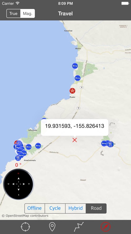 BIG ISLAND (HAWAII) – Travel Map Offline Navigator screenshot-4