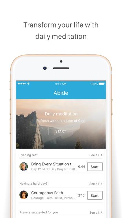 Abide - Christian Meditation screenshot-4