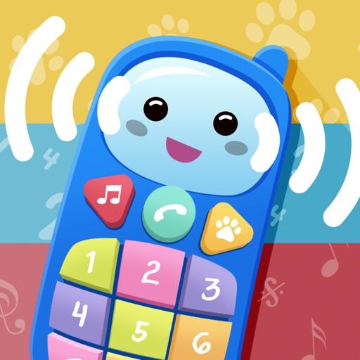Детский телефон. Музыкальная образовательная игра