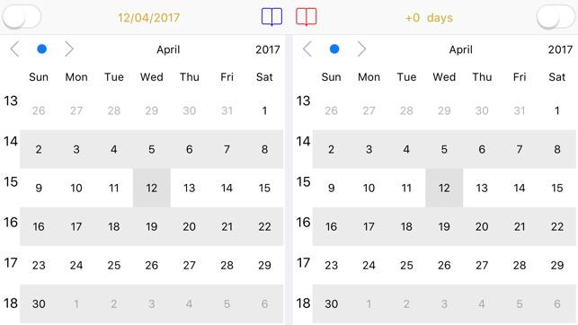 Dual-Kalender Dual Calendar Screenshot
