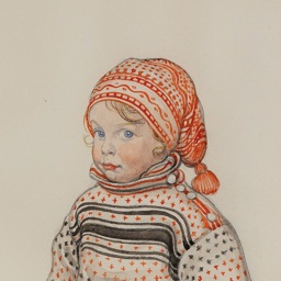 Carl Larsson Artworks Stickers