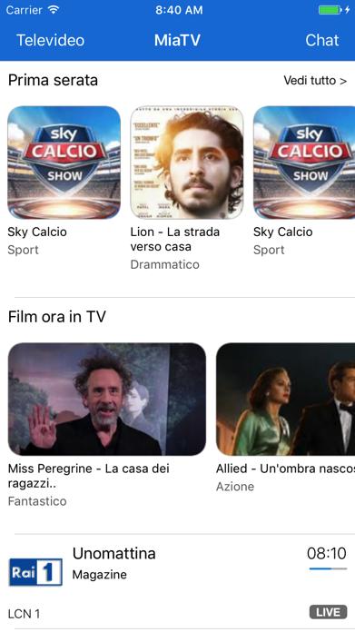 miaTV - Guida canali TV Screenshot