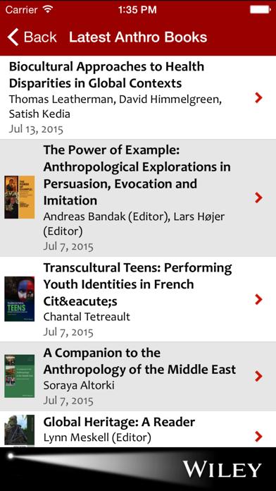 Anthropology Spotlight screenshot four
