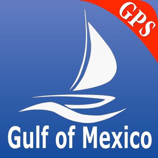 Gulf of Mexico GPS Nautical charts