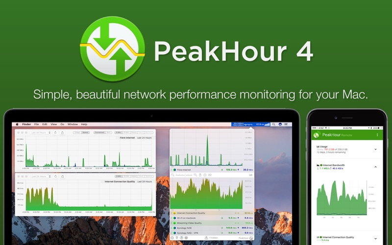 PeakHour 4 for Mac