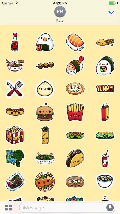 Nice Food Stickers