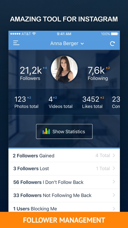 InTrack PRO - Followers Analytics for Instagram