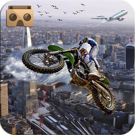 VR Extreme Bike Stunts: Skyway Tracks