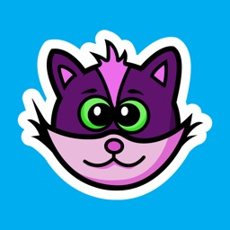 Kiddy Kat Animated Stickers