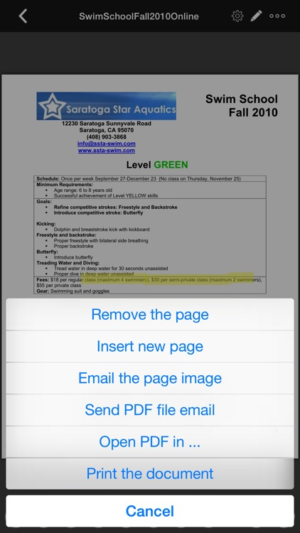 PDF Sign - Anytime, Anywhere, on your device screenshot-4