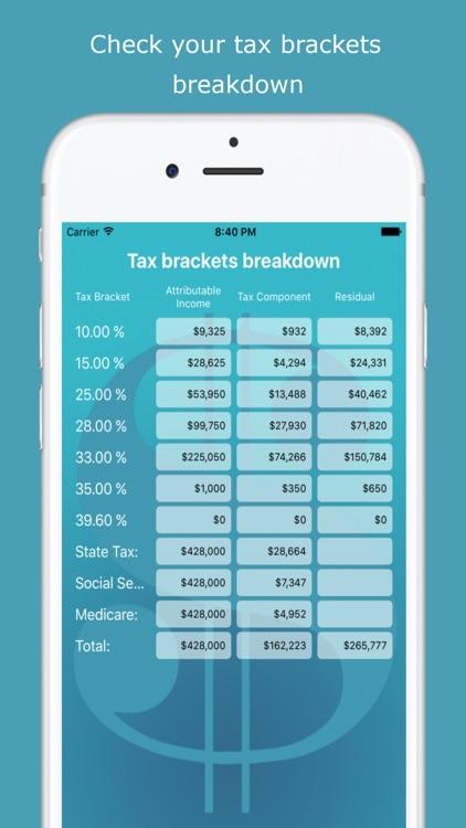USA Income Tax Calculator