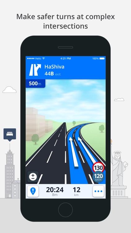 Sygic Mid-East GPS Navigation screenshot-4