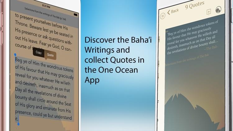 9 Quotes - Discover the Baha'i Writings screenshot-4