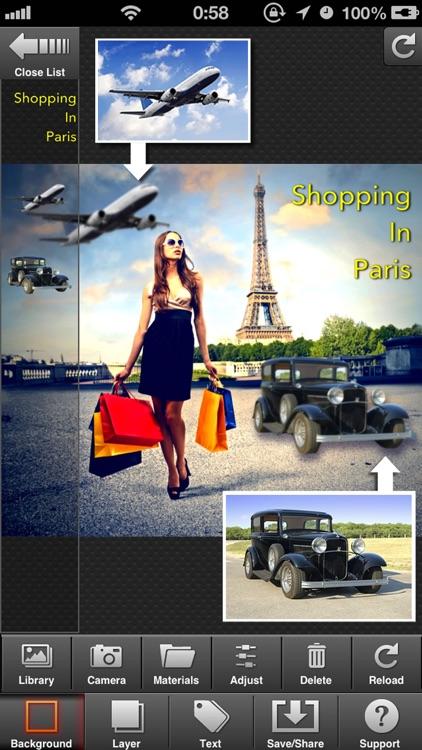PhotoCut-Superimpose & Eraser screenshot-3