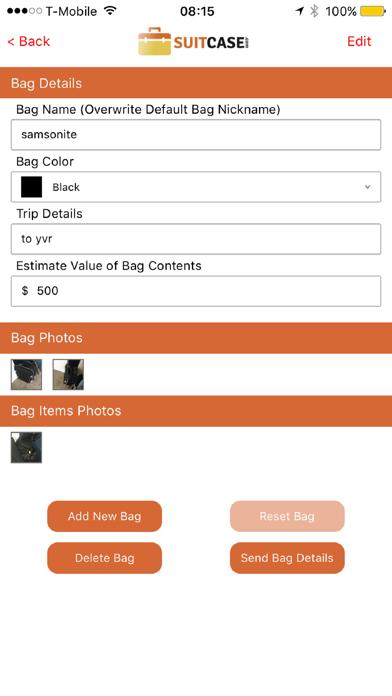 Traveler Suitcase Information Planner screenshot 2