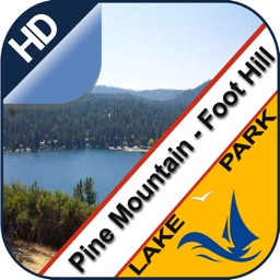 Pine Mountain lake & Foot Hill park offline charts