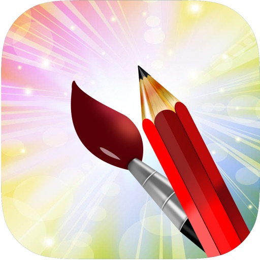 Draw , Color And Paint for kids. iOS App