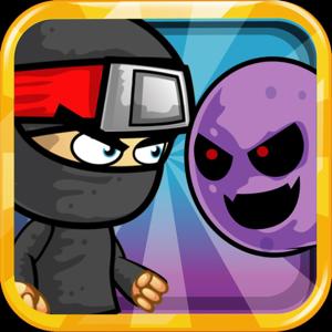 Cartoon Ninjas Runner ** app