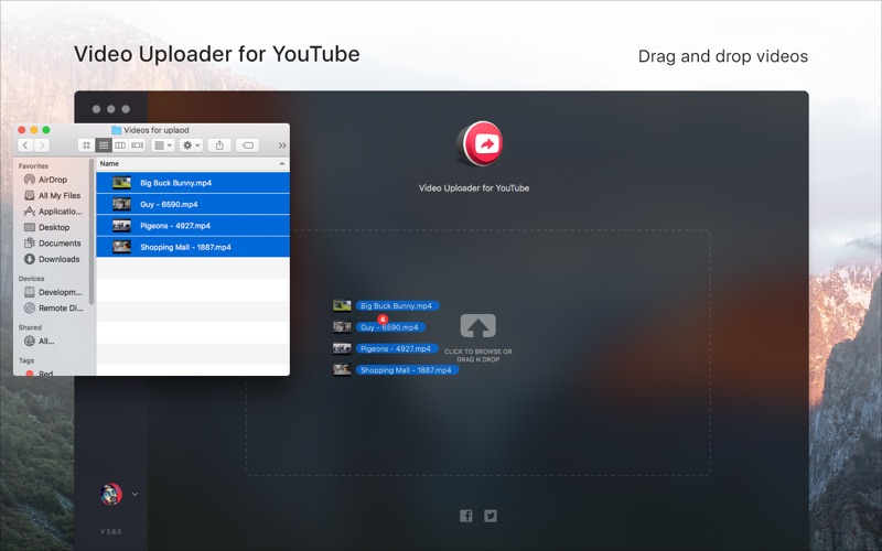 Video Uploader for YouTube скриншот программы 3