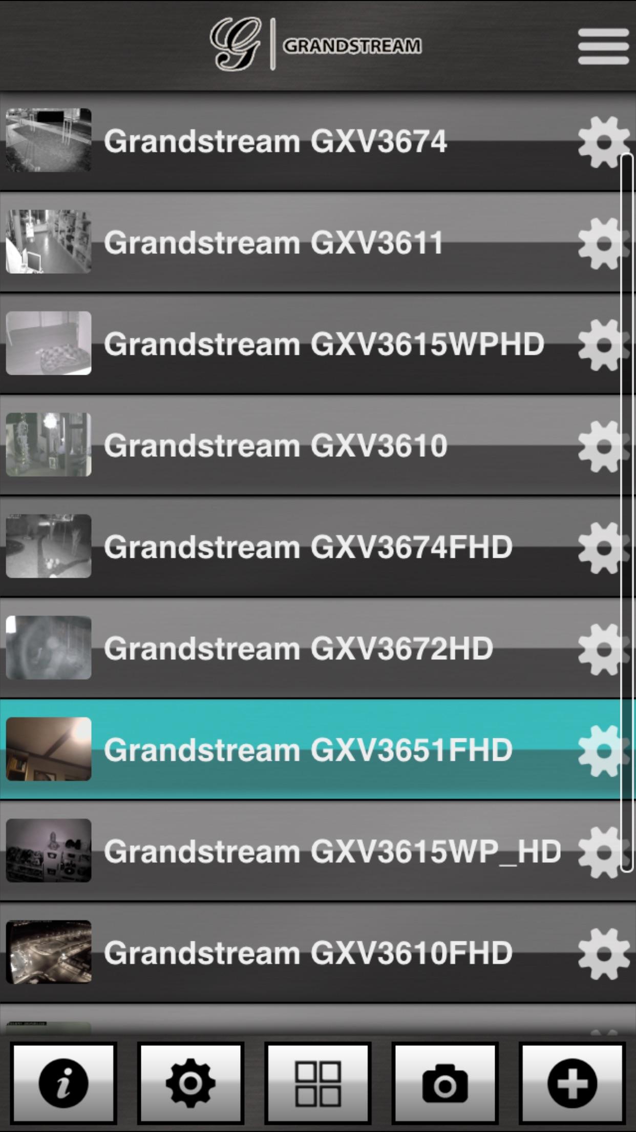 Grandstream FC Screenshot