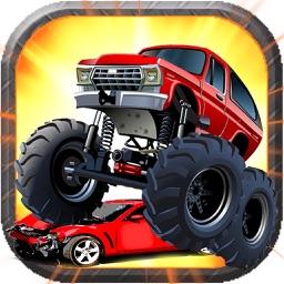 Big Monster Truck Racing Derby Game 3D 2017