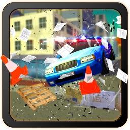 Police Car Training School: Learn 3D Driving