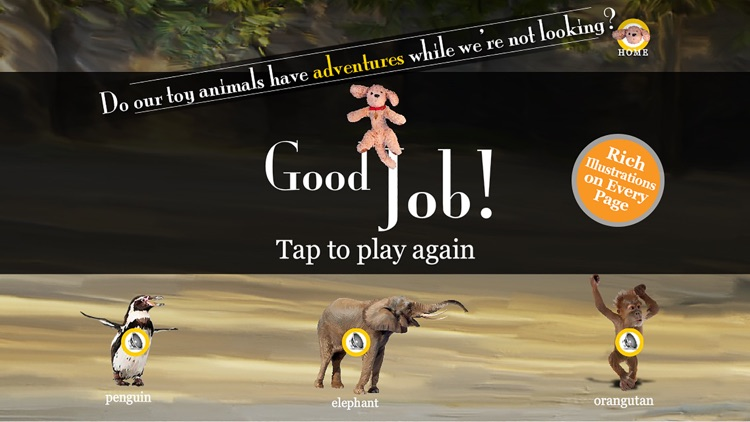The Adventures of Puppup Zoo Games for iPhone screenshot-4