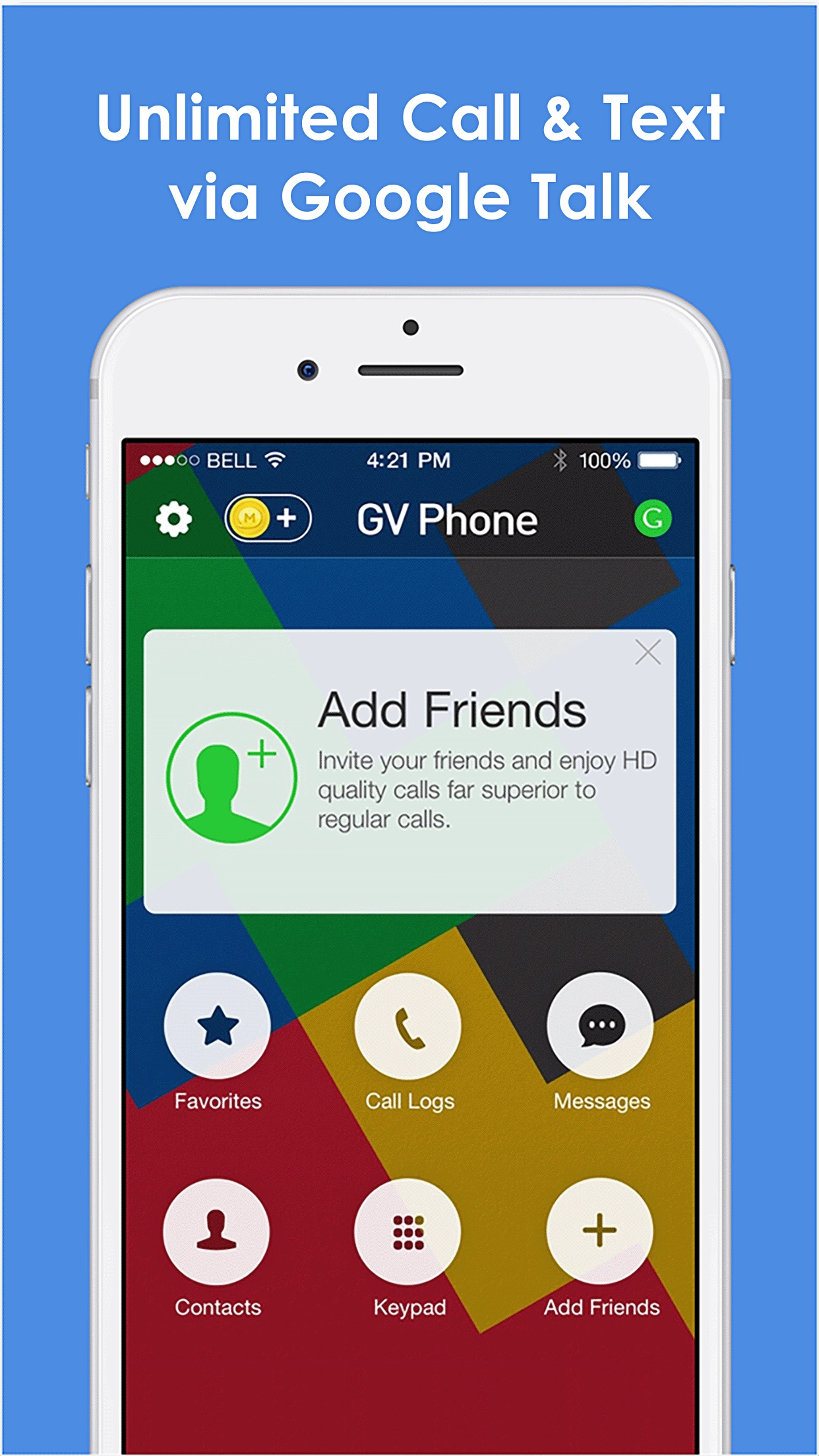 Phone for Google Voice & GTalk Screenshot