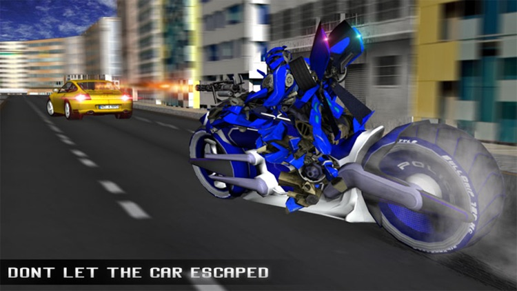 Monster Police Robot Moto Car Chase