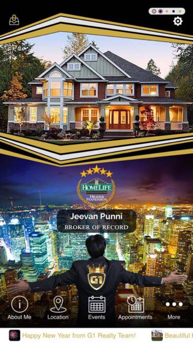 Jeevan Punni -  HomeLife G1 Realty Inc. screenshot one