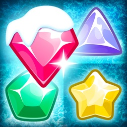 Frozen Jewels Mania - Match 3 Gems Puzzle Legend