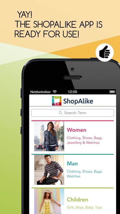 ShopAlike - Shopping screenshot-0