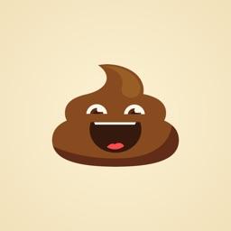 I am Miss Poo Stickers