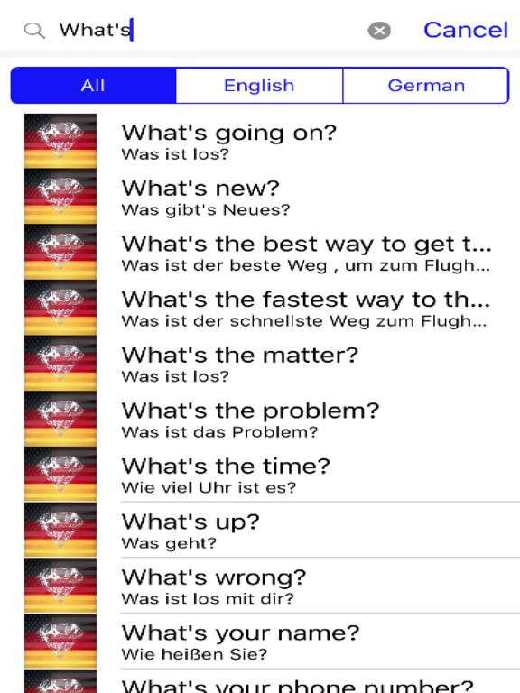 German Phrases screenshot 5