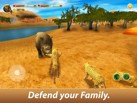 Leopard Family Simulator screenshot 7