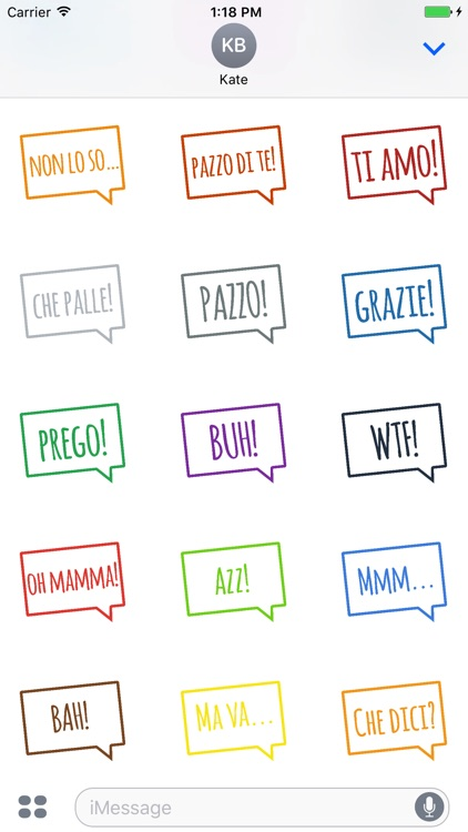 Italian Words and Expressions