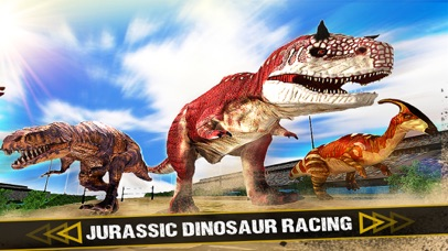 Jurassic Dinosaur - Racing Simulator Game