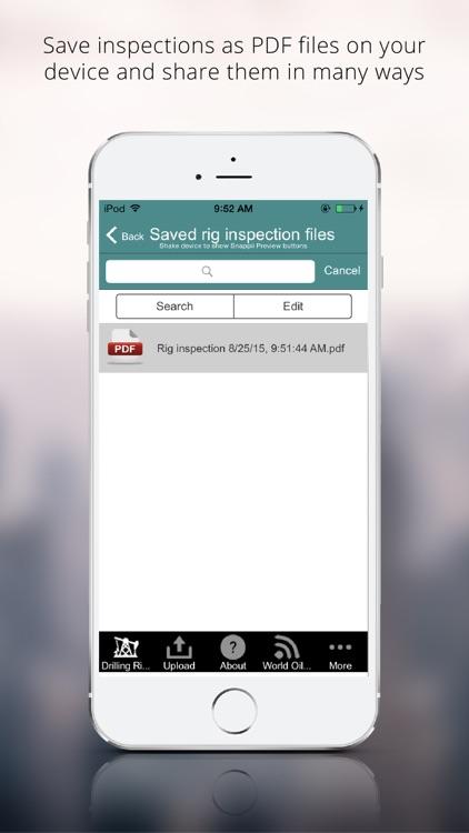 Drilling Rig Inspection App screenshot-3