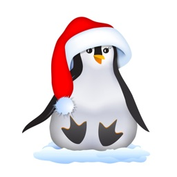 Christmas Penguin for Kids