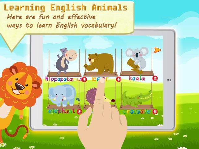 Animal Vocab & Paint Game - Kids painting activity