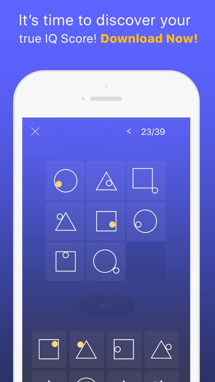 Superb IQ - Free IQ Test, Smart or Moron test screenshot-4