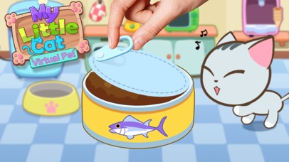 My Little Cat - Virtual Pet Feed, Raise, Bath