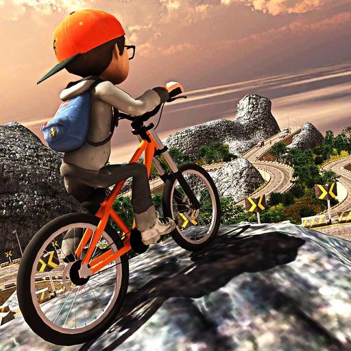 Hill Climb bmx Cycling