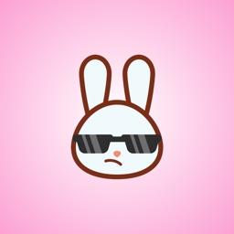 Bunny Emoticons