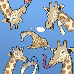 Ginny Giraffe: Animal Sticker Pack