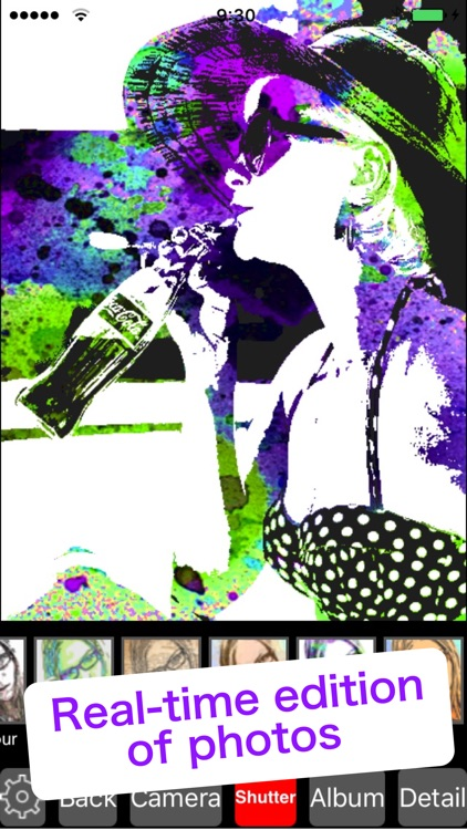 Pop Cam-Image editor with Pop Art style filters screenshot-3