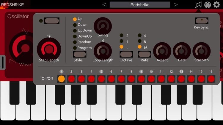 Redshrike Synthesizer screenshot-3