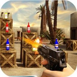 Bar Bottle Shoot Game